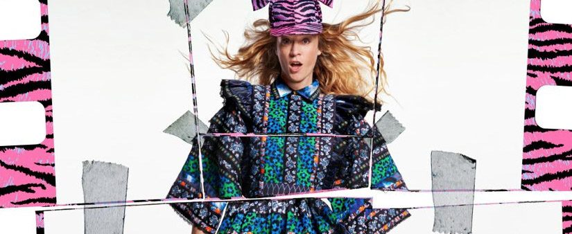 Chloë Sevigny for Kenzo x H&M – print ad and interview
