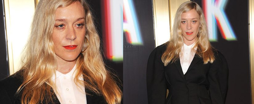 Chloë Sevigny at Saks Fifth Avenue NYFW party