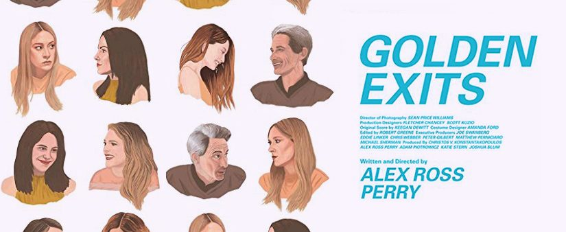 'Golden Exits' now in theaters and on demand!